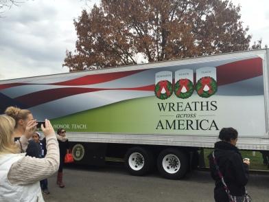Wreaths Across America truck